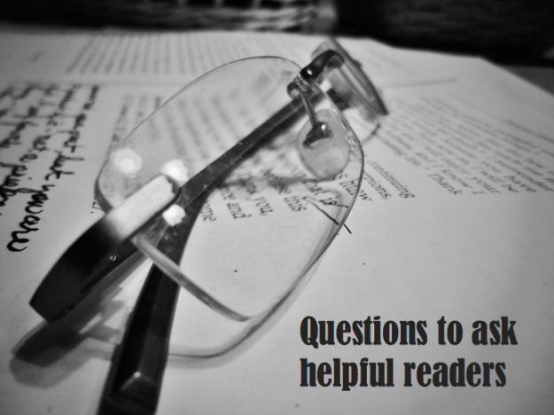 Questions to ask helpful readers